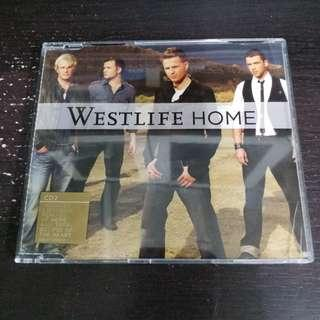WESTLIFE Home CD Single 4 Tracks 膠盒面有裂