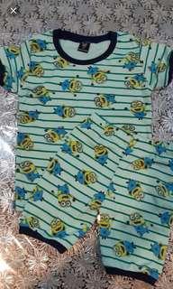 Gap kids minion cotton set 7t (no caroupay)