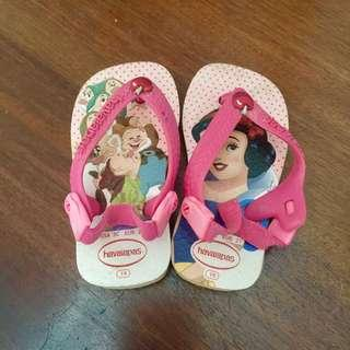 Havaianas Sandal pink baby snow white