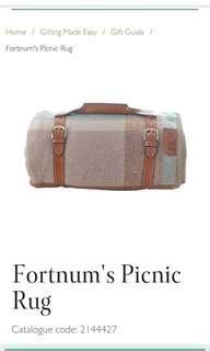 Fortumn and Mason picnic rug *new*