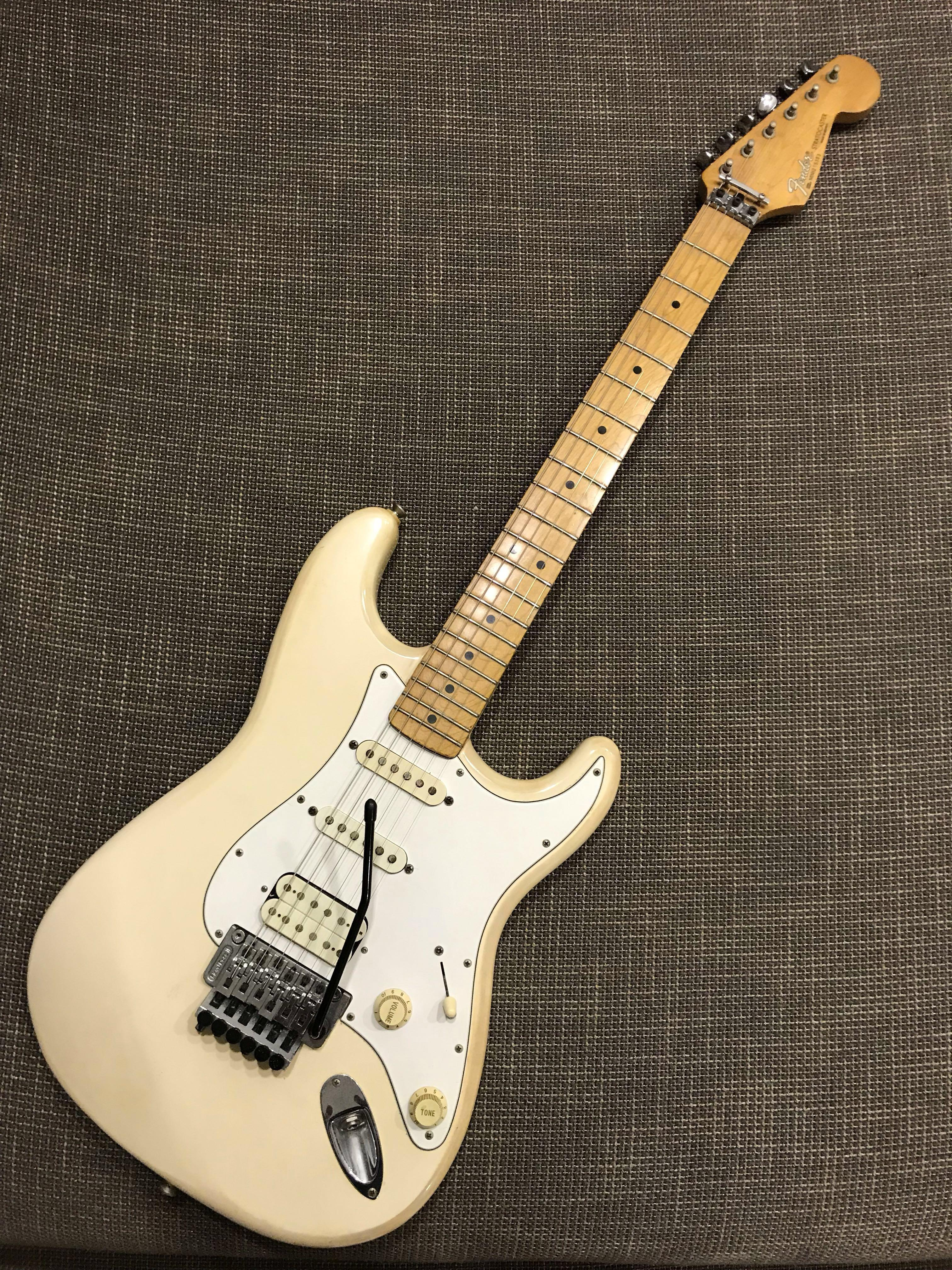 1996 Fender Standard Stratocaster MIM (FLOYD ROSE), Music