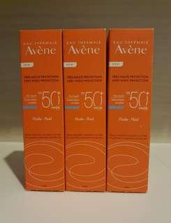 New Avene SPF50+ Sunblock Sunscreen 50ml