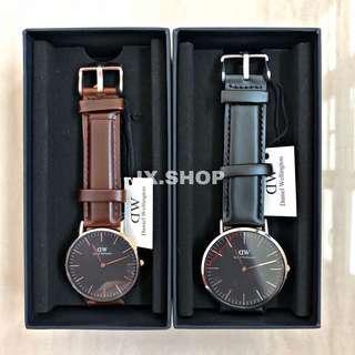 Daniel Wellington Classic Men's Leather Watch (Sheffield, Bristol, Durham, Reading, York, St Mawes)
