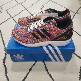 🚚 Adidas ZX Flux Multicolour Pixel