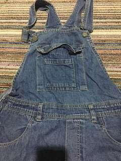 Preloved Overall Jeans