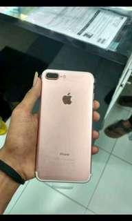 Kredit Iphone 7 Plus 128GB Rose New
