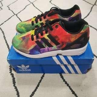 🚚 Adidas ZX Flux Multicolour