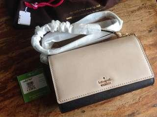 kate spade NEW with tag Sling Bag comes with care card and dust bag and FREE shipping for 6K ONLY