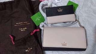 kate spade NEW bundle! matching sling bag and wallet 10 Pics! RUSH Sale 8K