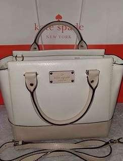 kate spade NEW With Tag $329 (16k+) Complete Inclusions Two-Way Bag 10 PICS Rush! 8K