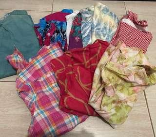 REPRICED! bundle assorted blouse