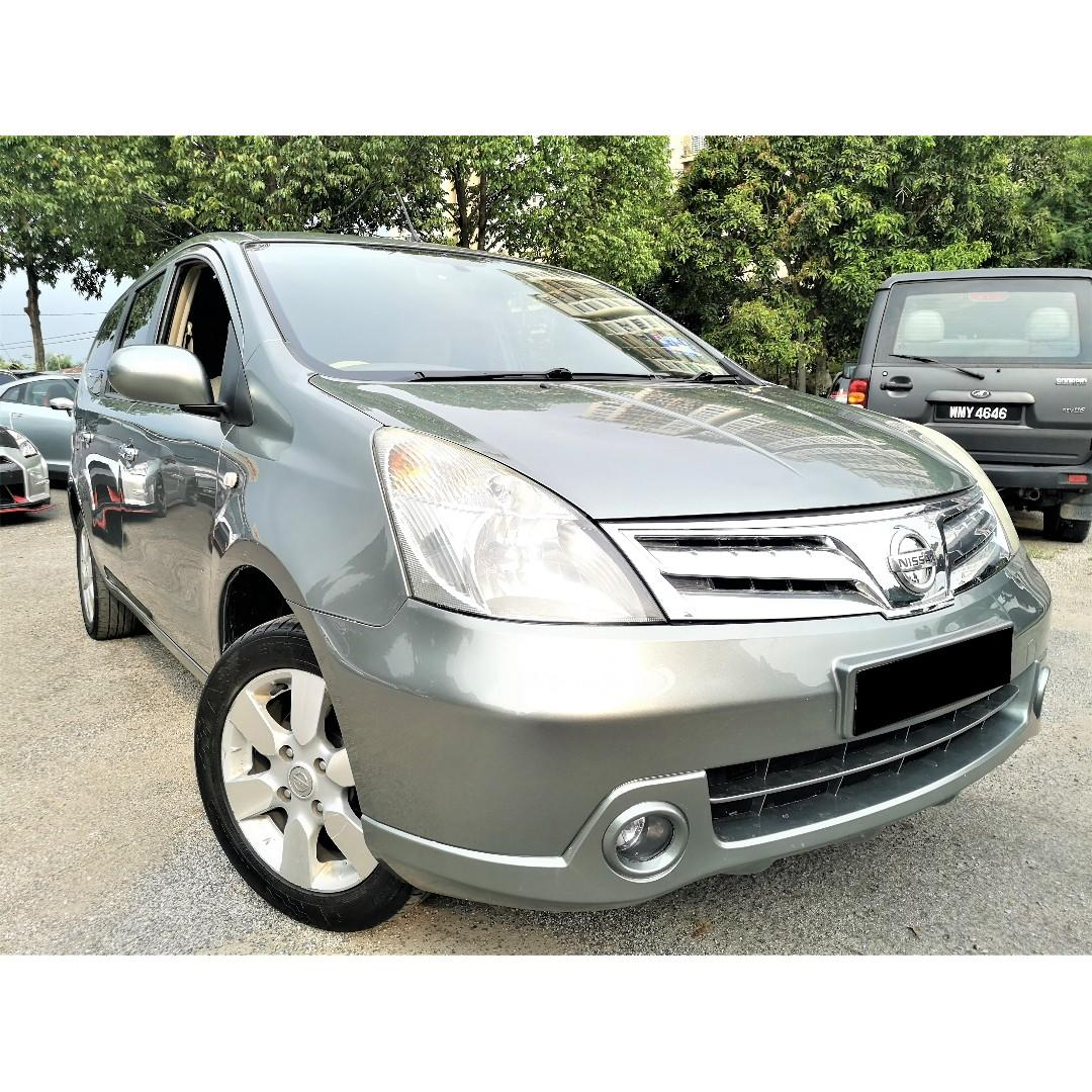 2009 Nissan Grand Livina 1.8 Impul MPV (A)[TIP-TOP CONDITION][7 SEAT][PROMOTION] 09