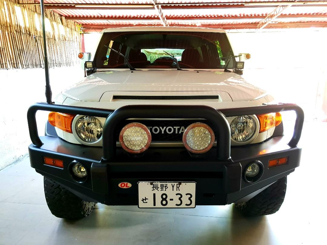 2015 Toyota FJ Cruiser Fully Loaded, Sound Set-up by C&J,  19k kms lc200