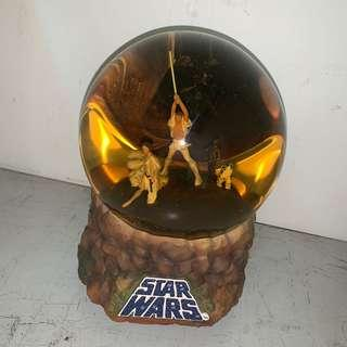 Star Wars Snow Globe with Lights and Music
