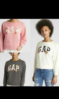 New GAP Sweater Floral Pullover XS-XXL