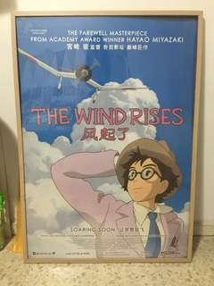 Studio Ghibli The Wind Rises movie poster