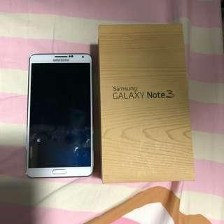 Samsung Galaxy Note 3 白色 有盒有單