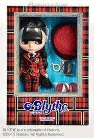 SHOP限定 Blythe check it out 2015年 英倫