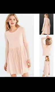 New Pink Dress M-L