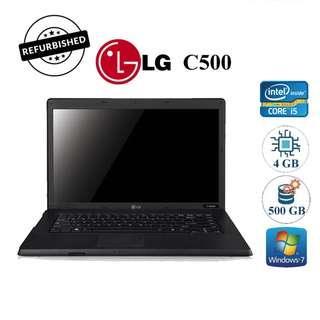 "# PROMO # Refurbished LG C500 Laptop ( 15"", Core i5, 4GB RAM, 500GB HDD )"