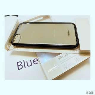 🚚 Moshi 透明黑框 手機殼 iphone 7/8
