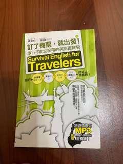 🚚 英文旅行實用書
