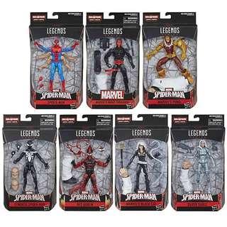 Marvel Legends Spider-Man wave Kingpin baf