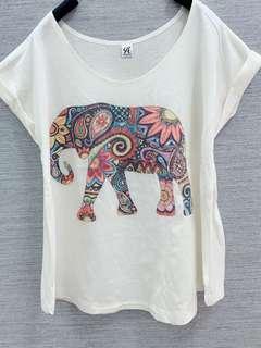 🚚 泰國經典大象短T