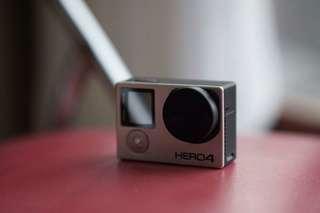 [ BEST DEAL ] GoPro HERO 4 BLACK Fullset + accesories