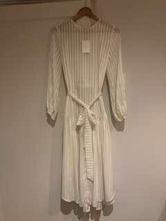 Zimmermann new with tag white dress