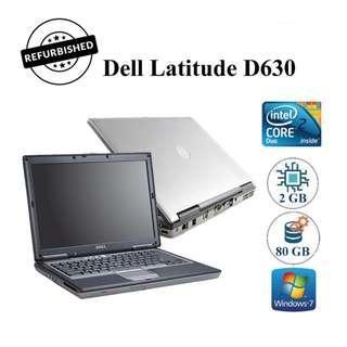 Refurbished Dell Latitude D630 (C2D, 2GB RAM, 80GB HDD)