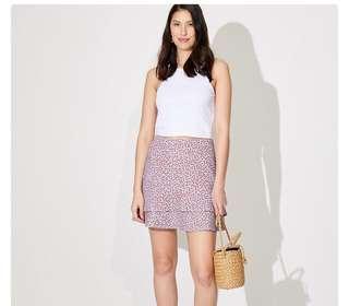 Floral Flippy Skirt