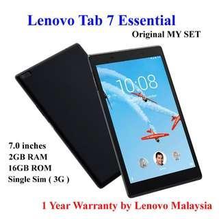 Lenovo Tab 7 Essential - 7.0 inch 3G Tablet