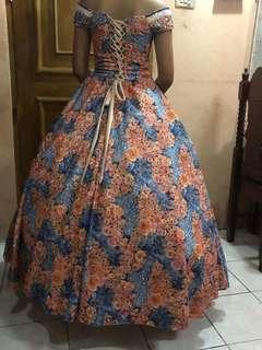 Off Shoulder Ball Gown For Rent