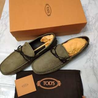 🚚 Tod's豆豆鞋(男/墨綠):義大利購入,保證正品