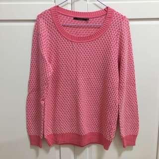 🚚 Theme 粉紅毛衣