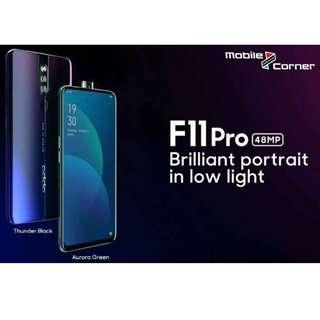 Pre-order now Oppo F11 Pro with min deposit RM100 & Get FREE ECLUSIVE GIFTS!