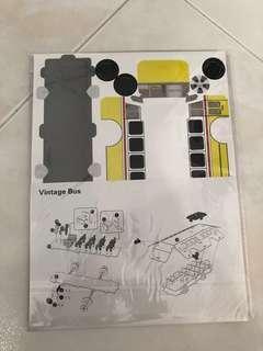 Sg Vintage Bus 3D puzzle (LTA exclusive)