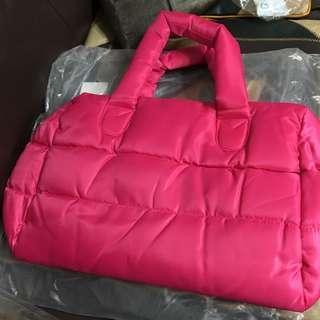 🚚 Lancôme 桃紅色 空氣包