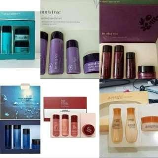 Korean skin care kits