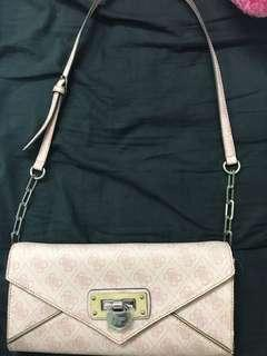 Guess handbag in pink