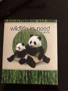 2011 Wildlife in Need - Australia Perth Mint Giant Panda 1oz Silver Proof Colored Coin