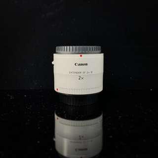 Canon 2X extender III