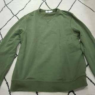 🚚 TOPMAN Olive Sweater