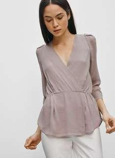 Babaton Alexander Blouse - in Purple (small)