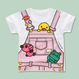 Baby Girls T-Shirt Tees Top Pink