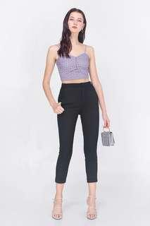 🚚 BNWT Fayth citizens XL high waisted black pants