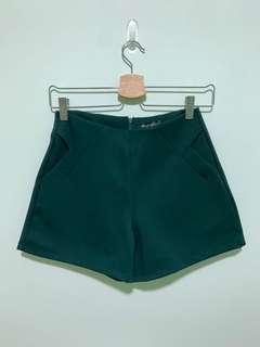 🚚 Forest green highwaisted shorts