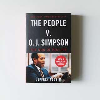 🚚 The People V. O.J. Simpson: The Run of his Life by Jeffrey Toobin (book rental)