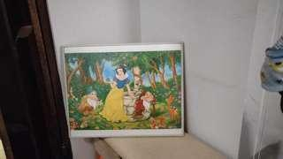 Original Disney Snow White Jigsaw Puzzle